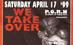 17 April 1999 – P.O.R.N. We take over @ Hogeschool Rotterdam